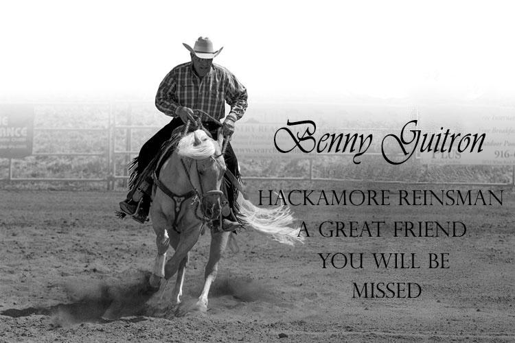 Benny Guitron Memorial - riding horseback